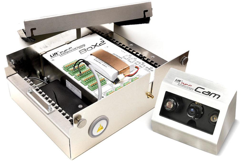 Lift eye-P BoX2 und Emergency Cam