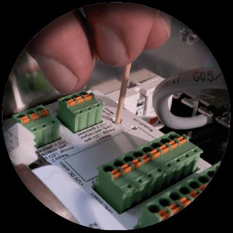 Lift eye-P Vorteil Gerätefreie Fehlerdiagnose