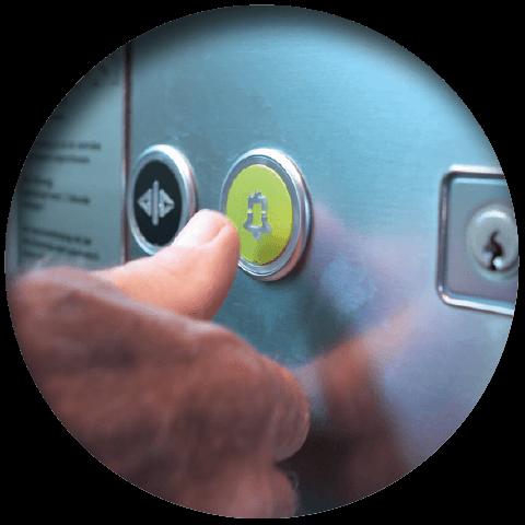 Lift eye-P Vorteil Teilautomatische Betriebskontrolle